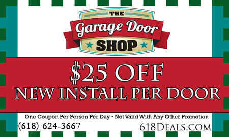garage doors installation coupons o'fallon il