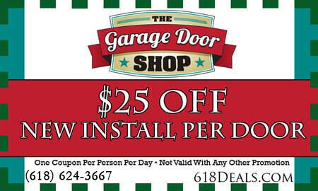 new garage door install coupons o'fallon il